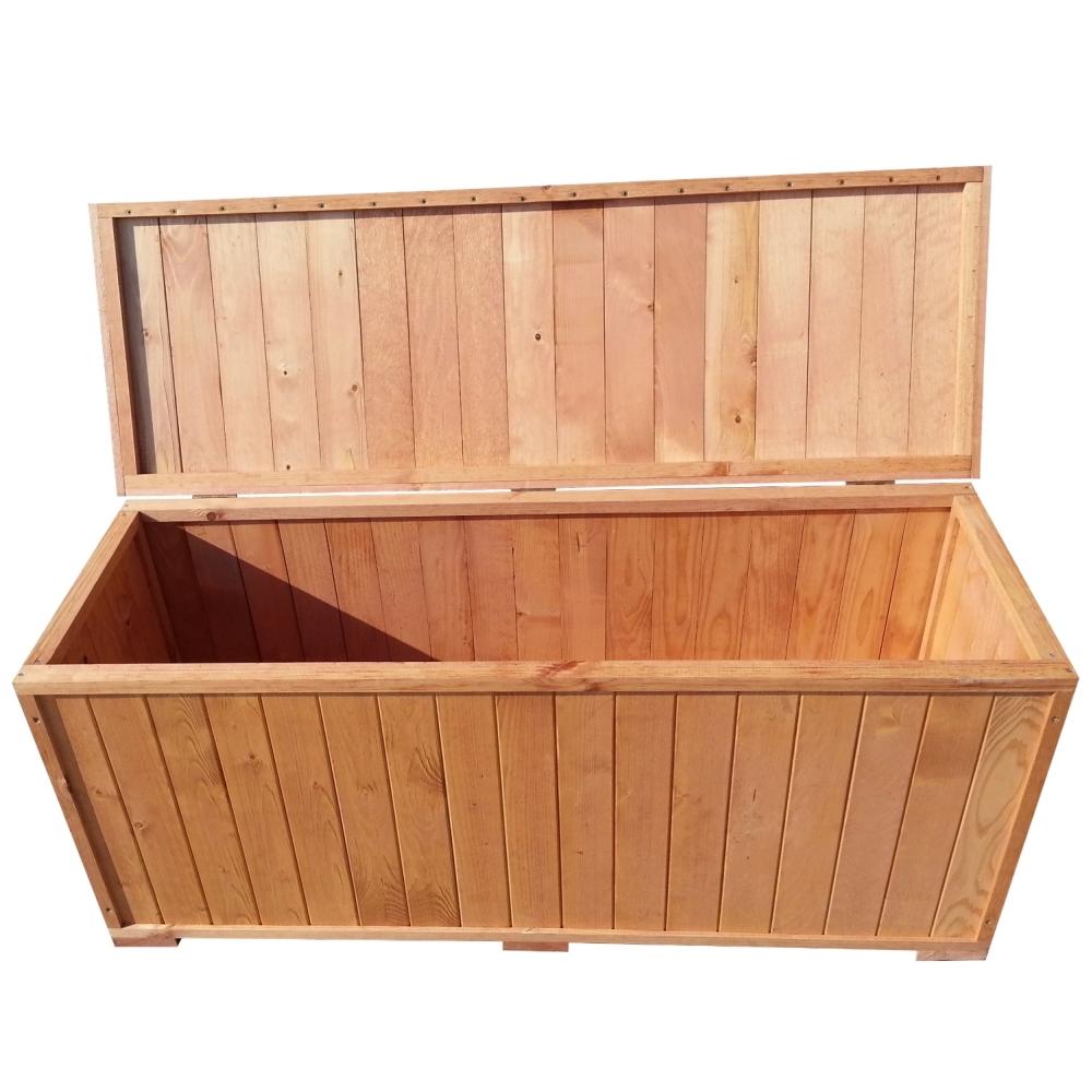Cassapanca panca legno da giardino esterno terrazzo for Cassapanca in legno da esterno