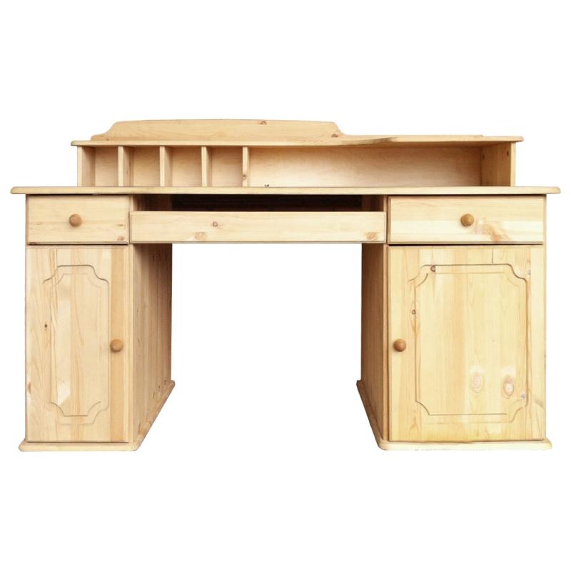 Computertisch holz  Schreibtisch Computertisch Holz Kiefer Massivholz PC Tisch Büro ...