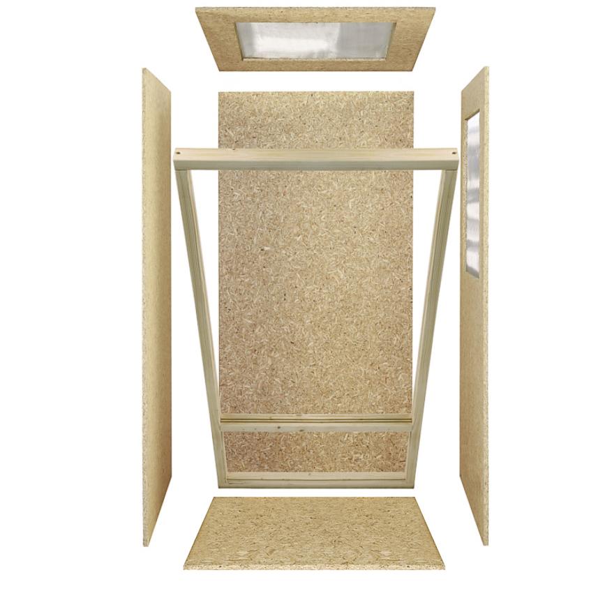 hochterrarium seitenbel ftung holzterrarium cham leon schlange holz terrarien ebay. Black Bedroom Furniture Sets. Home Design Ideas
