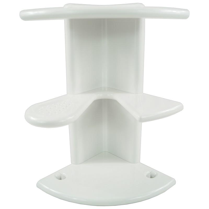 Eckregal Dusche Kunststoff : Duschregal Badregal Eckregal Duschablage Duschkorb Regal Duscheckregal