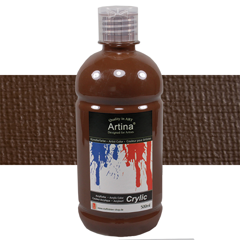 artina peintures acryliques de qualit flacons de 500ml id al pour les loisirs ebay. Black Bedroom Furniture Sets. Home Design Ideas