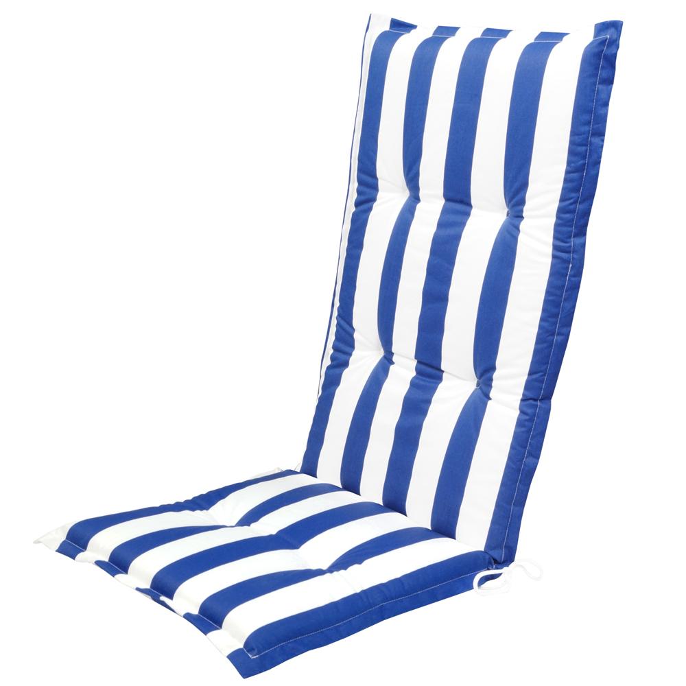 Luxus Gartenmöbel Auflagen Kissen 4,5 cm Hochlehner Sessel ...