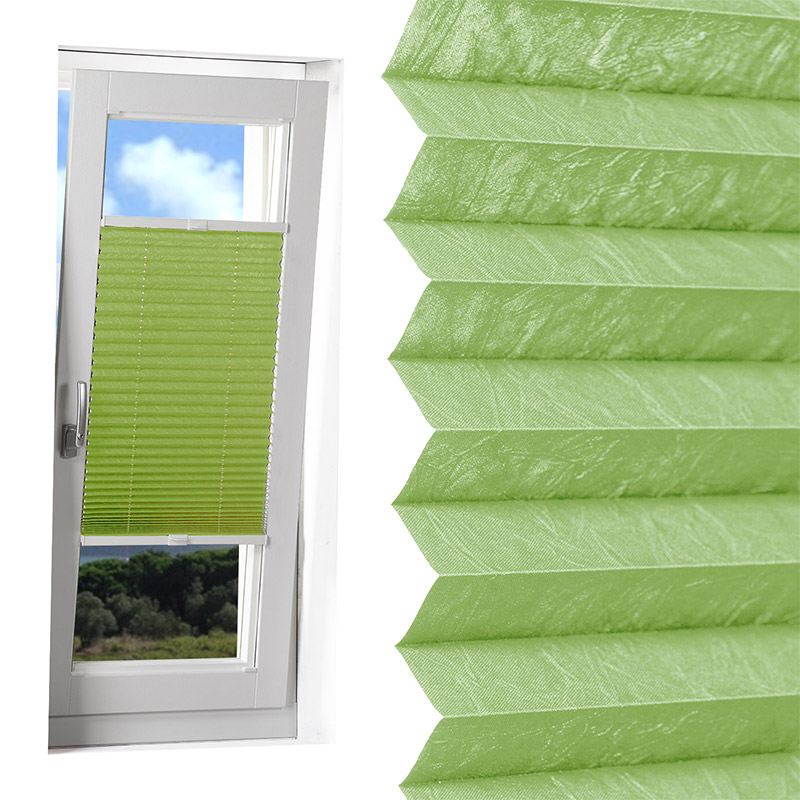 Großartig PLISSEE (FALTROLLO/Jalousie/Rollo) Fenster PLISSEES Crush Stoff  QR23
