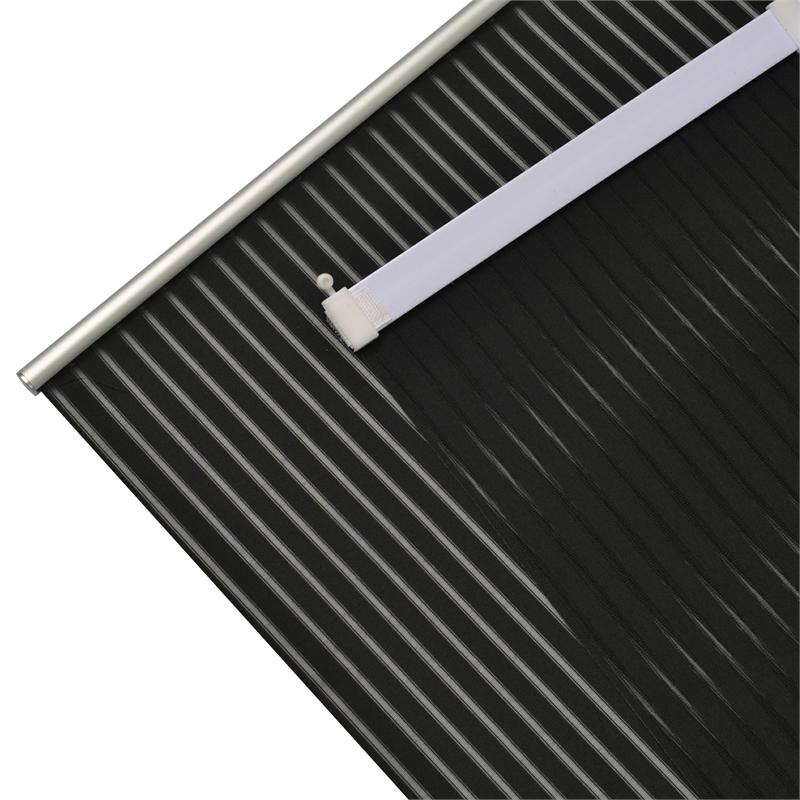 schiebevorhang schiebegardine transparent mit zubeh r. Black Bedroom Furniture Sets. Home Design Ideas
