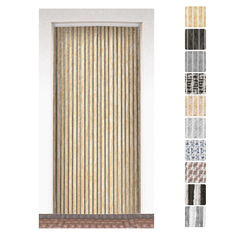 t rvorhang insektenschutz flauschvorhang wohnwagen chenille fliegenschutz balkon. Black Bedroom Furniture Sets. Home Design Ideas