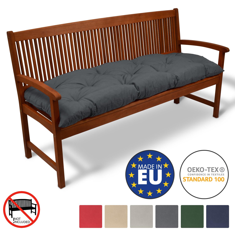 gartenbank auflage bankauflage sitzpolster bankpolster bankkissen polsterauflage ebay. Black Bedroom Furniture Sets. Home Design Ideas