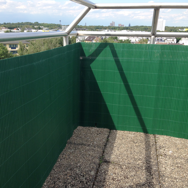 Sichtschutzzaun Garten Sichtschutzmatte Balkon PVC Windschutz