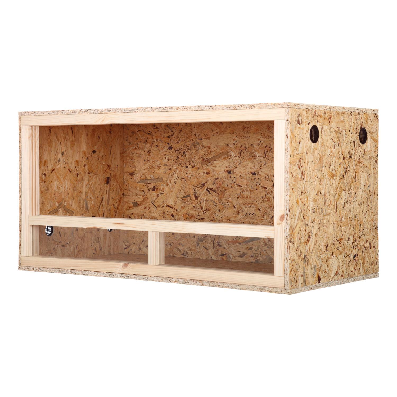 terrarium seitenbel ftung holzterrarium glas schiebet r osb holz terrarien ebay. Black Bedroom Furniture Sets. Home Design Ideas