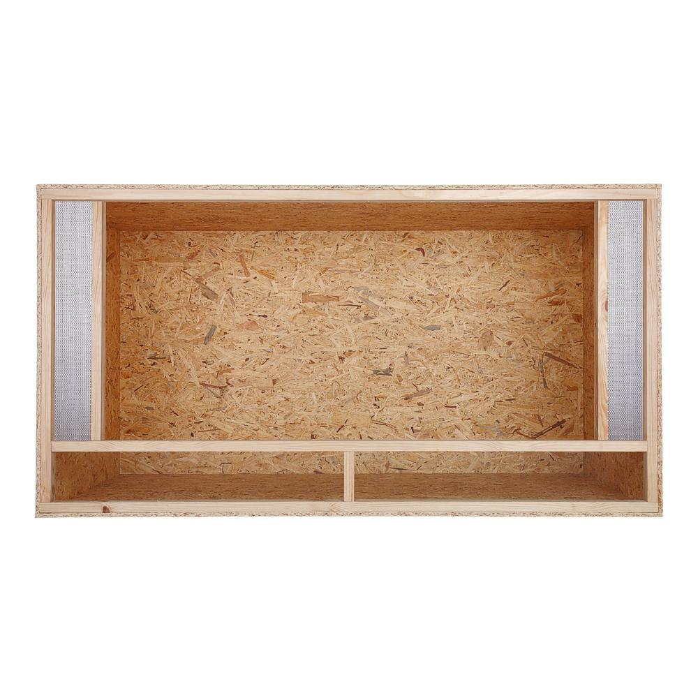 terrarium frontbel ftung holzterrarium glas schiebet r osb holz terrarien ebay. Black Bedroom Furniture Sets. Home Design Ideas